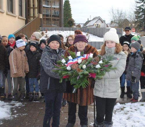 * Commémoration de la fin des combats D'Obenheim