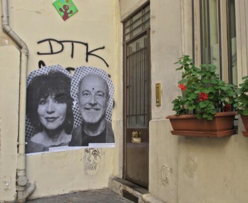 JR photomaton affiche rue Rivoli