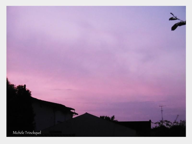 Le ciel au matin du 26 août...