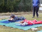 L'après midi du 2ème jour: biathlon.