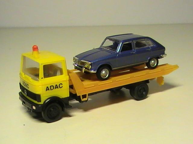 Un petit nouveau  le camion de dépannage