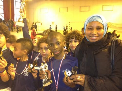 "Tournoi Torcy "" Bravo aux petits champions"""