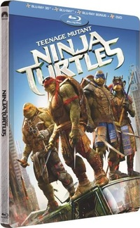 [Blu-ray 3D] Ninja Turtles