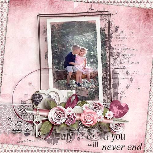 Romantic Letter by dentellescrap