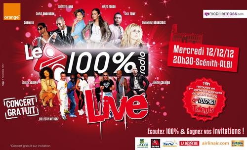 100% Live 2012