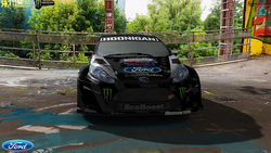 Team Hoonigan Gymkhana Ford Fiesta Ken Block