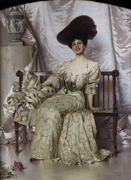 File:Vittorio Matteo Corcos Portrait der Contessa Nerina Pisani Volpi di Misurata 1906.jpg