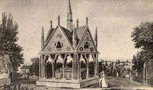 Le grand almanach de la France : Le cimetière du Père-Lachaise