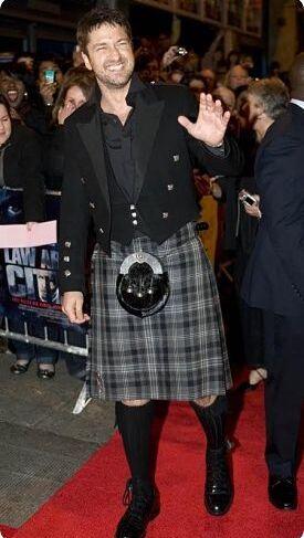 Les stars en kilt tartangirl 39 s wardrobe for Pourquoi ecossais portent kilt