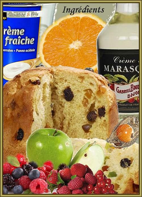 Recette de cuisine : Dessert aux fruits rouges