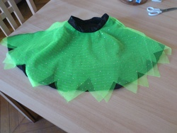 Une jupe de fée facile à mettre !
