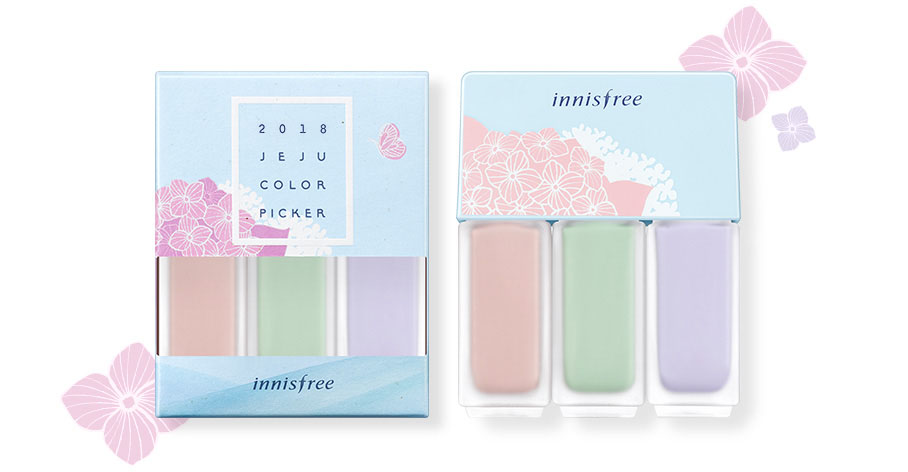 Innisfree - 2018 Jeju Color Picker Collection