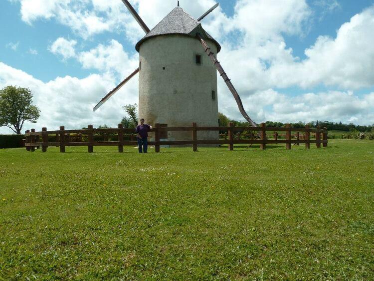 Moulin Blat à Bouhy dans la Nièvre