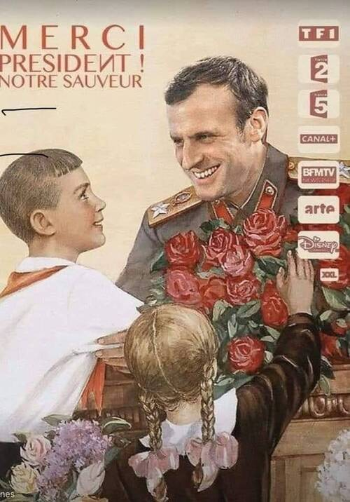 Macron's war team