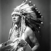 White Man Runs Him. Crow. Early 1900s. Photo by Richard Throssel. Source - University of Wyoming, Am
