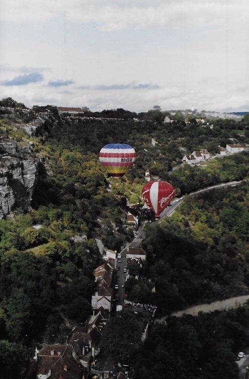 Montgolfières à Rocamadour ( suite)