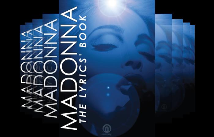 Madonna - The Lyrics Book Madonnalex