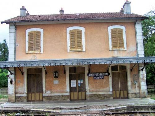 La gare de Sincey-les-rouvray!