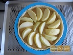 Tarte grillagée aux pommes & speculoos