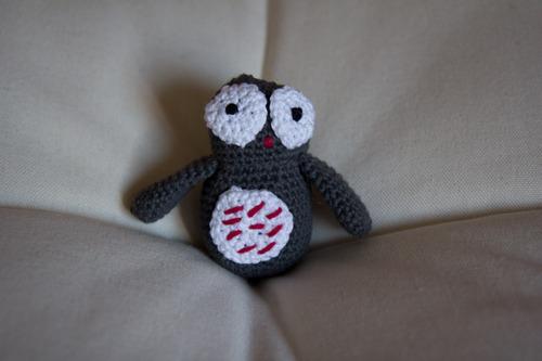 Mylène - Crochet : Un chouette doudou !