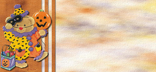 Papiers incrédimail Halloween 2