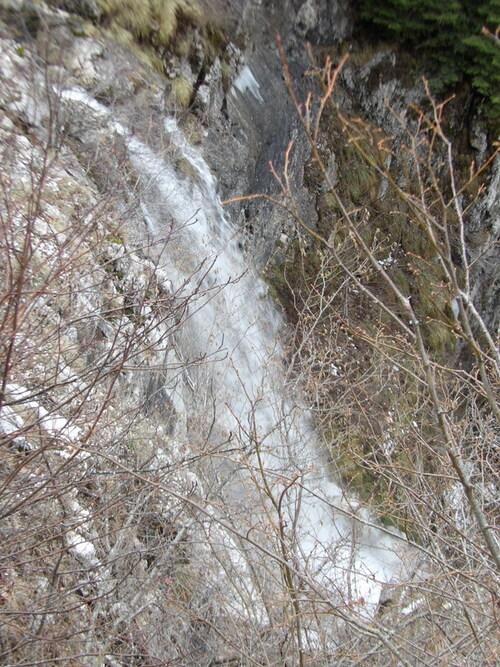 Cascades sur le Plateau d'Hauteville