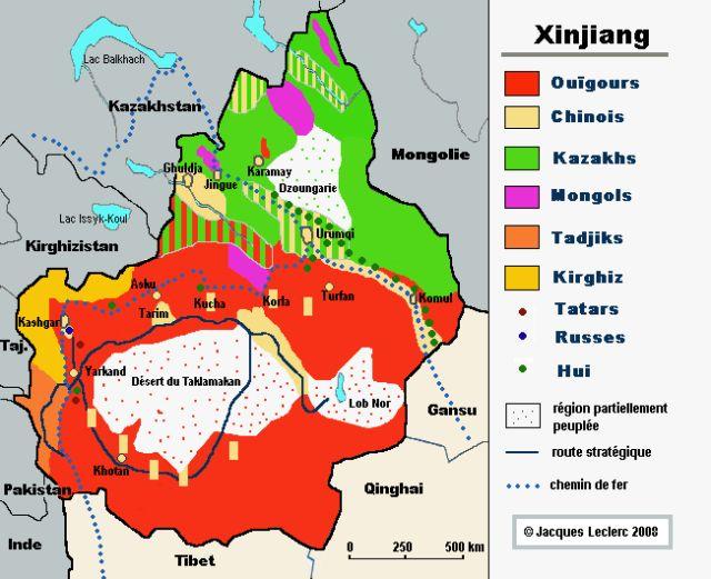 """Sur la situation actuelle des Ouïghours en République """"populaire"""" de Chine"""