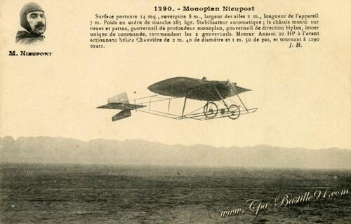 L'aviation sur de vieilles cartes postales..