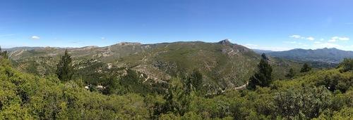 Panoramas sur les collines marseillaises