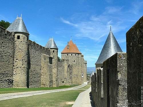Les murailles de Carcassonne