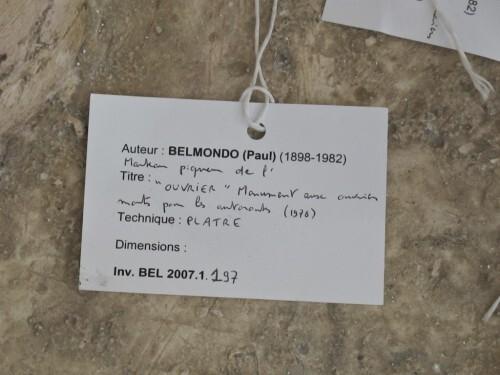 Boulogne MA 30 statue Belmondo 1