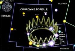 Constellations de l'hémisphère nord en été