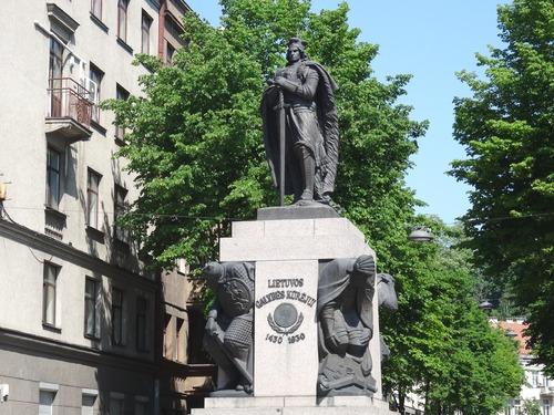 """Kaunas en Lituanie: autour de l""""église zaint Miçel Archanze"""