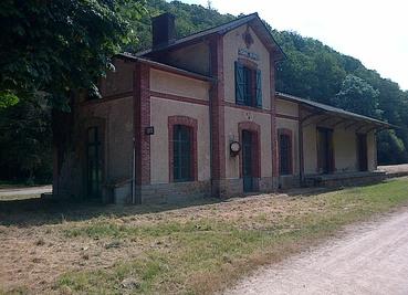 Ancienne gare de Scrignac