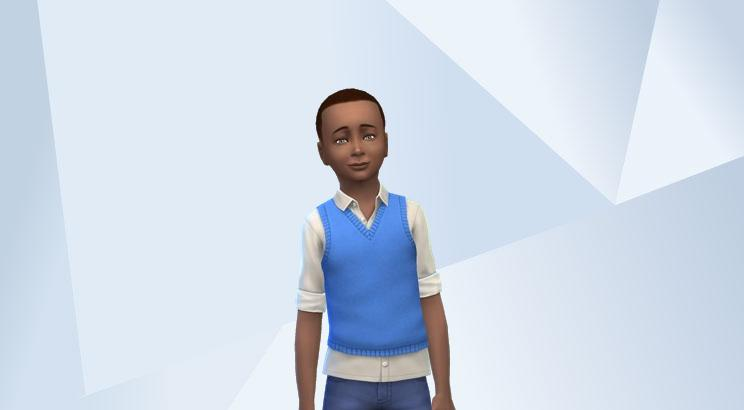 Sims 4 :  La famille Nappy