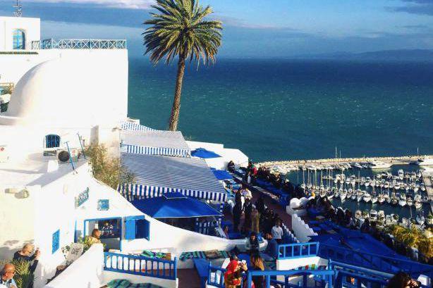 La vue sur le golfe de Tunis et... (PhotoMarie-Sophie L'Heureux, collaboration spéciale)