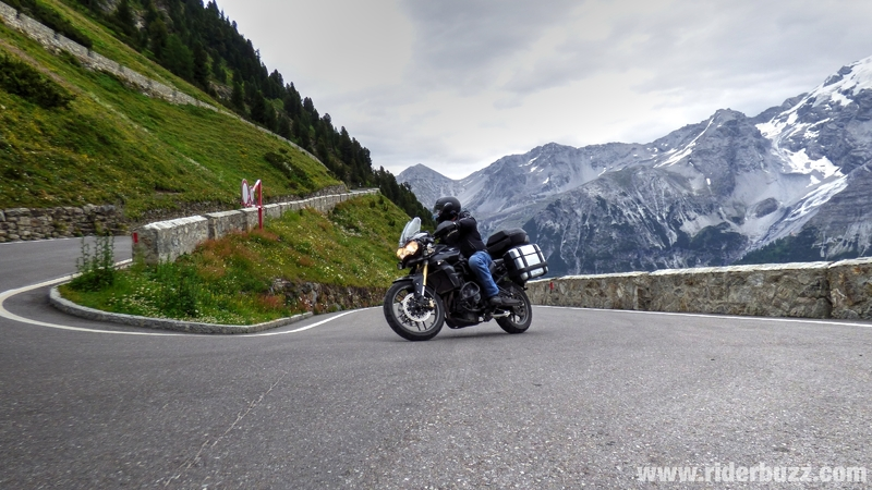 Moto tour 2014 : The Big Alps Tour - AUTRICHE- SUISSE- ITALIE