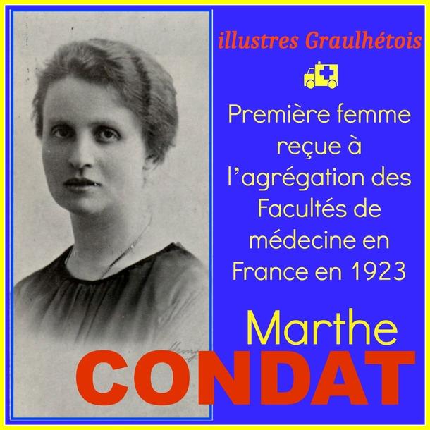- Marthe CONDAT