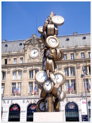 Paris. Gare Saint-Lazare