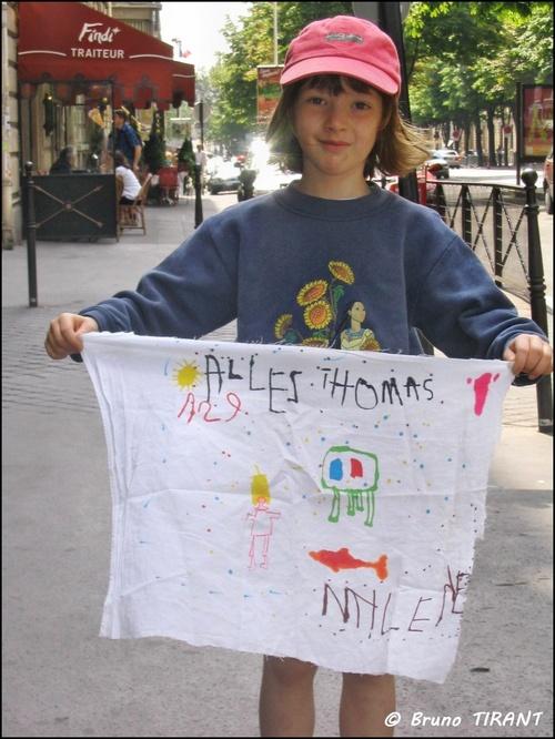 5 ans et déjà supportrice de Thomas VOECKLER
