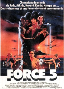 BOX OFFICE FRANCE 1982 FORCE 5
