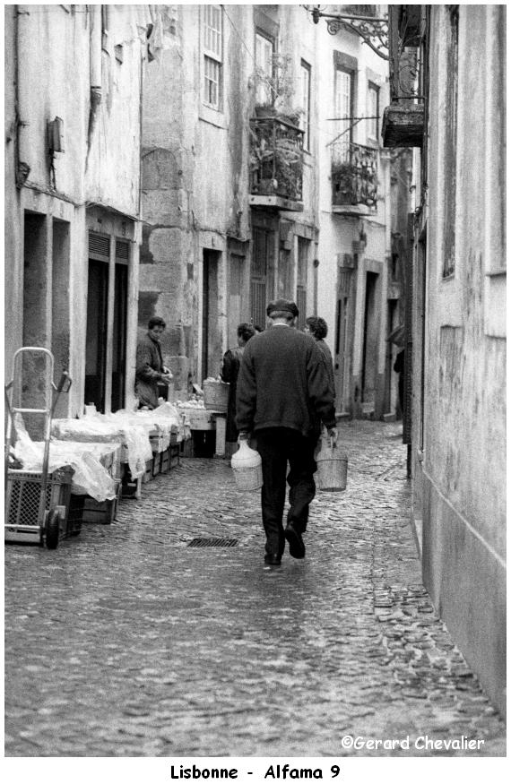 Lisbonne - Alfama.