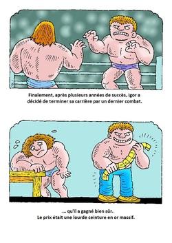 Igor le lutteur