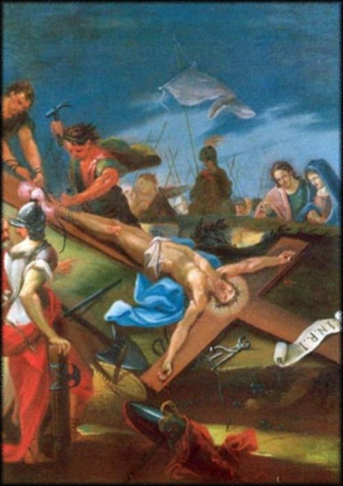 Le chemin de croix en 14 tableaux