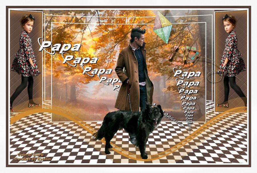 Tutorial Psp Magnifique ~ Papa