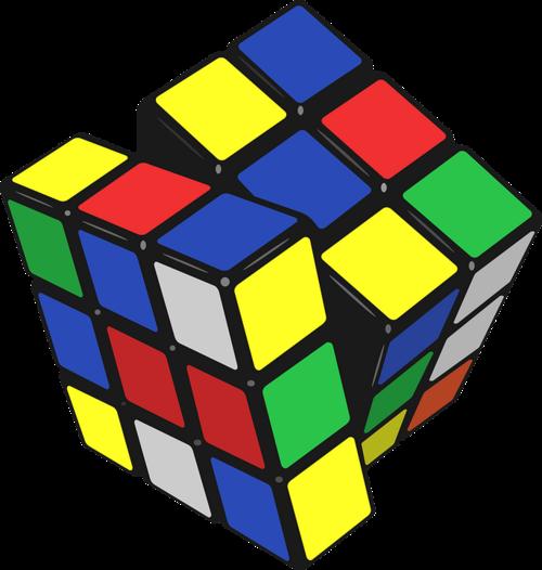 Cadeaux de Noël 2016: Le grand retour du petit Cube casse tête à facettes multi-couleurs .