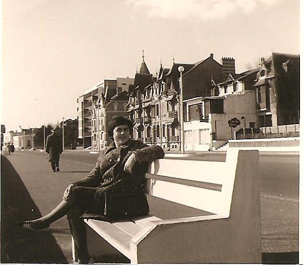 Marie-Claude à La Baule en 1967 001
