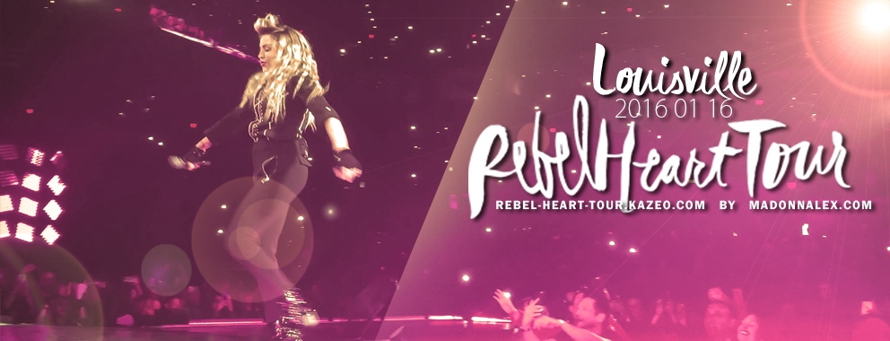 Madonna Rebel Heart Tour Louisville