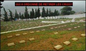Algérie : toutes les croix du cimetière Français de Sétif ont été retirées