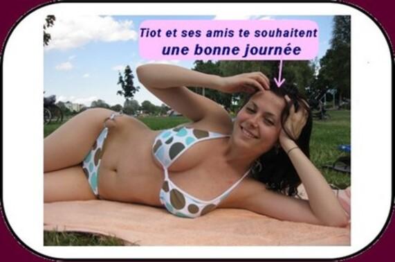 Tiot a retrouvé Marianne (humour du poissonnier).